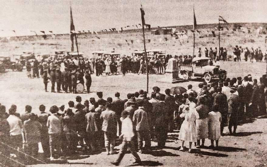 22 de Octubre de 1933. Acto de Fundación de Cutral Co.