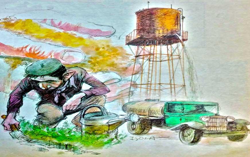 Agricultura, riego, colonos: Las colonias de regadío en La Confluencia