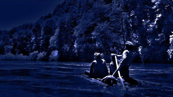 Francisco P Moreno, protagonizó una espectacular fuga en balsa desde los toldos de Sayhueque, a orillas del Caleufú.