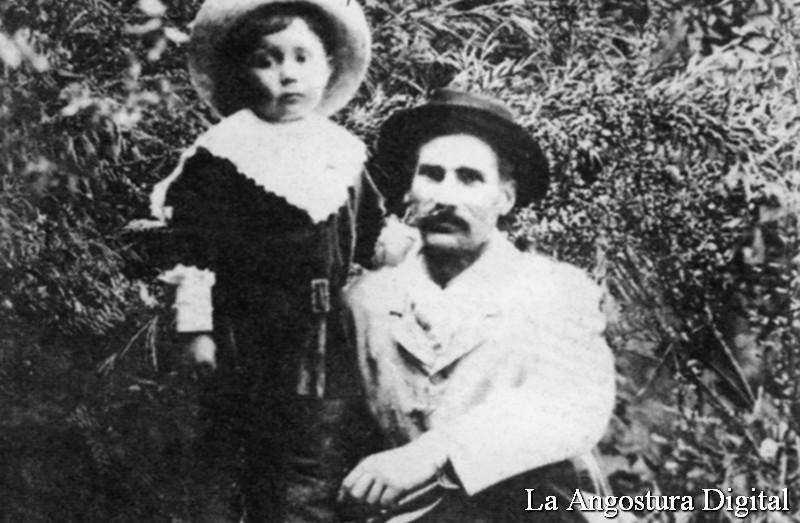 Federico Baratta se radicó en 1903 en cercanías del río Correntoso, pero luego enfermó de pulmonía y se tuvo que mudar con su familia a San Carlos (hoy Bariloche)