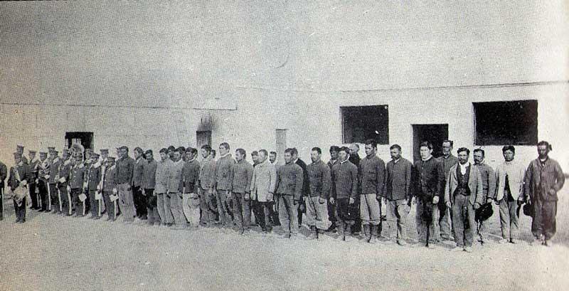 Formación carcelaria del penal de Neuquén, años antes de la fuga.
