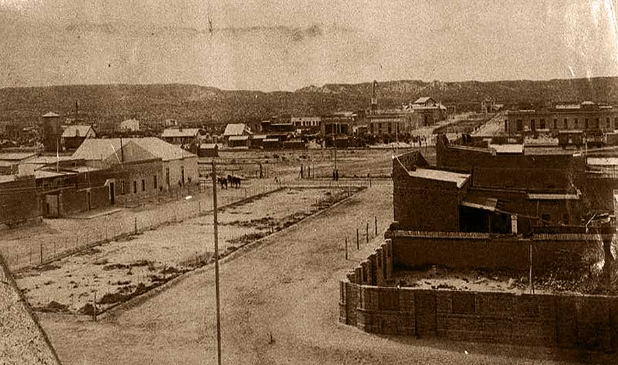 Imagen ilustrativa: Neuquén en sus orígenes - Foto gentileza Archivo Histórico Municipal de Neuquén