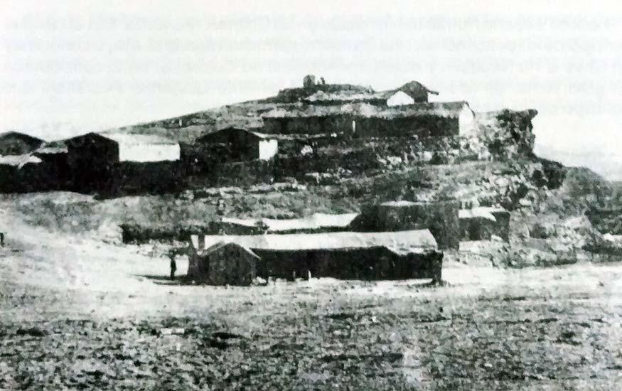 Fortín Cuarta División - 1880