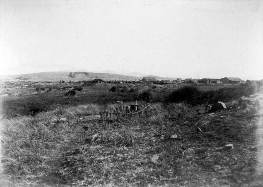 Cementerio del fuerte Codihue