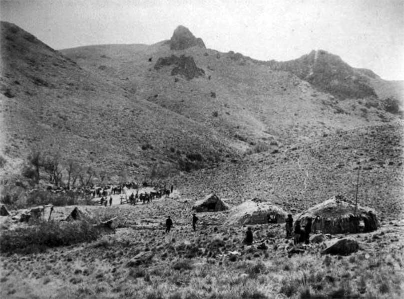 Fotografía de la Campaña del Desierto de Encina y Moreno.