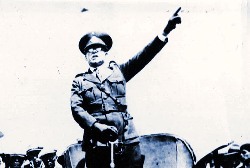 Gobernador del Neuquén, Coronel Carlos H. Rodríguez (1932-1934).