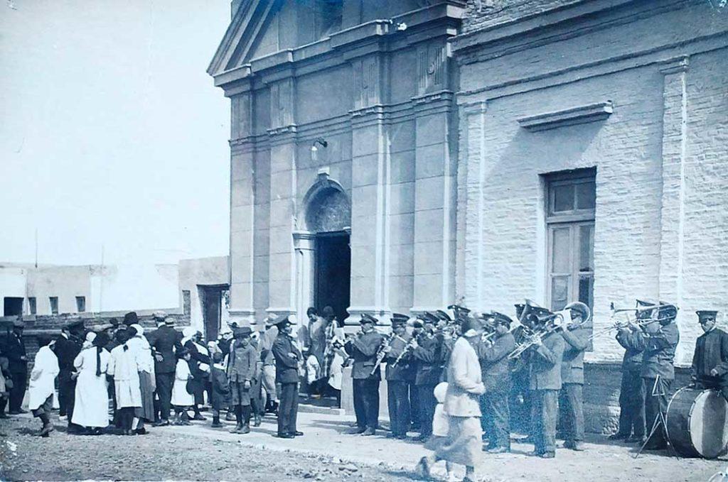 Capilla Nuestra Señora de los Dolores, Neuquén Capital, primeras décadas del Siglo XX.
