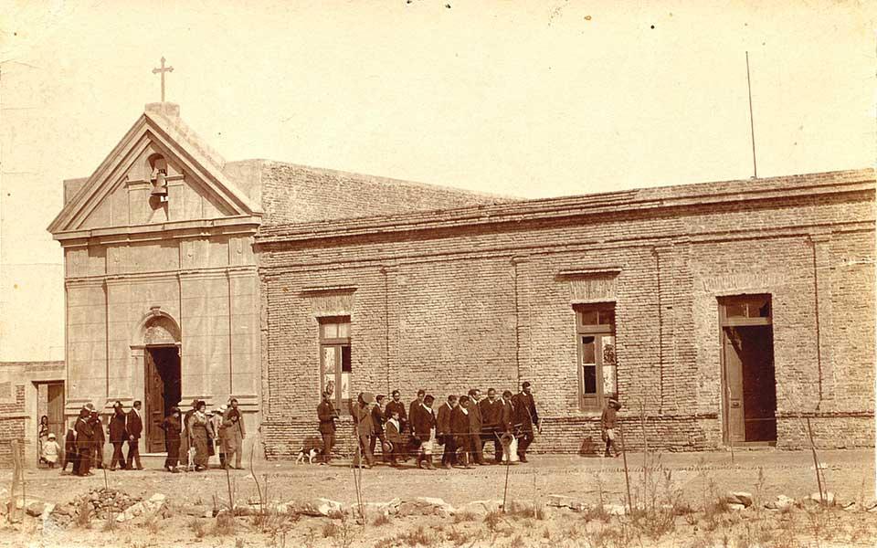 Capilla Nuestra Señora de los Dolores, Neuquén 1920