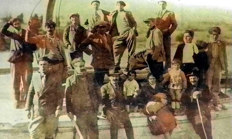 Inmigrantes de ultramar en el territorio neuquino