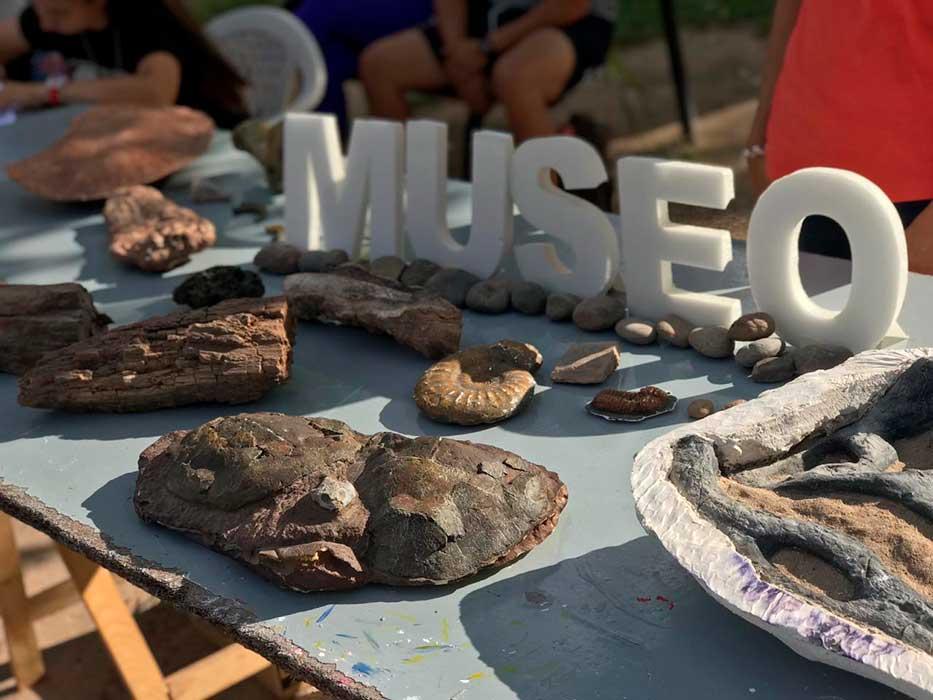 Actividades del Museo de Añelo con la comunidad.
