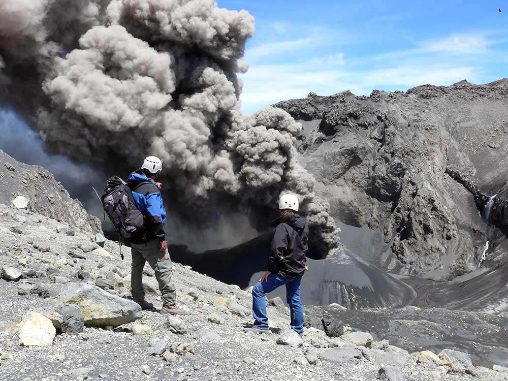 Erupción del volcán Copahue (diciembre del 2016), provincia del Neuquén.