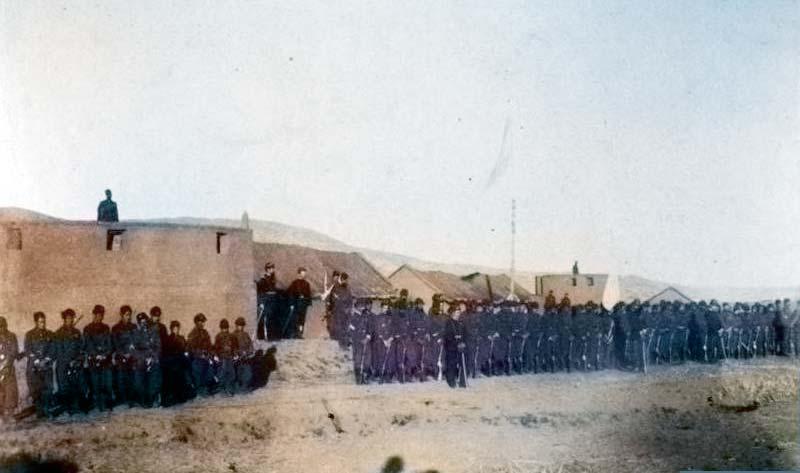 25 de mayo de 1883 - Regimiento 11 de Caballería