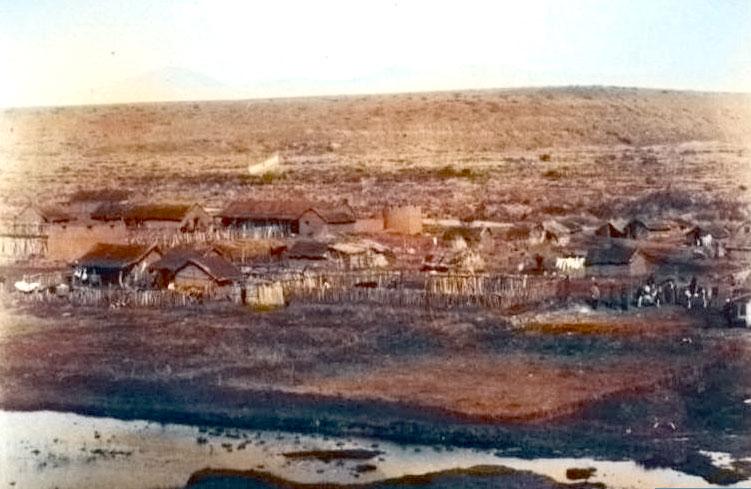 Vista general del Fuerte Codihue