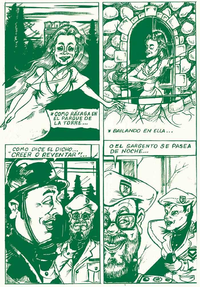 La dama de blanco - La leyenda de la torre Talero de Neuquén
