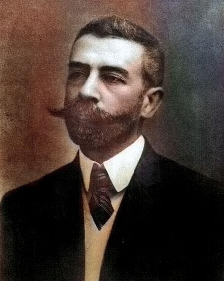 Joaquín Víctor González - Ministro del Interior.