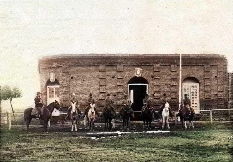 Primera comisaría de Junín de los Andes - 1905