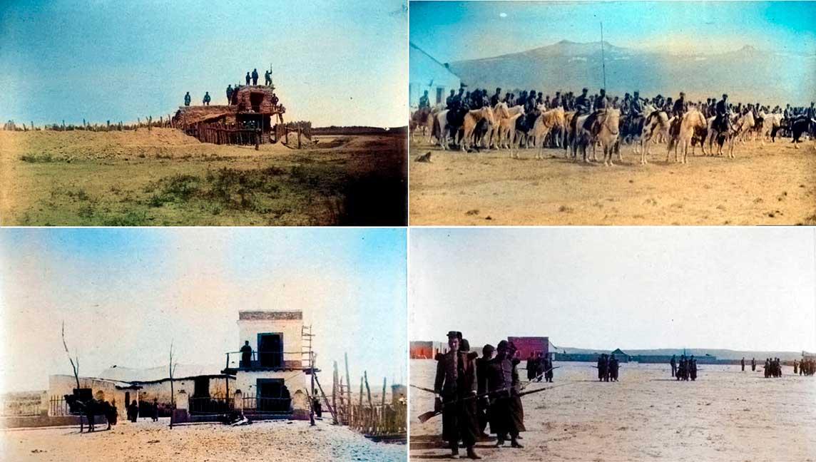 La campaña del desierto - 1883 - Álbum de fotos - Primera parte
