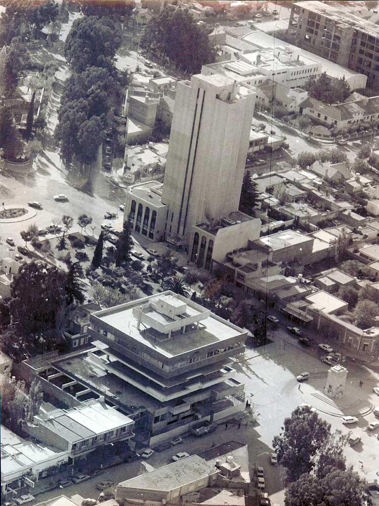 Hotel del Comahue - Municipalidad sin terminar