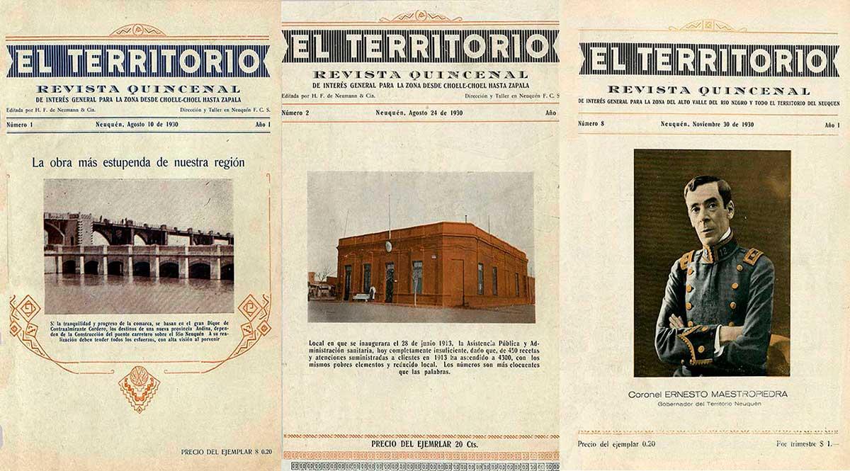 """Revista """"El Territorio"""" - Neuquén"""