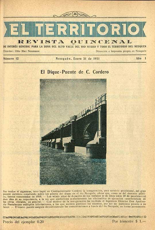 """Revista """"El Territorio"""" - década del '30"""