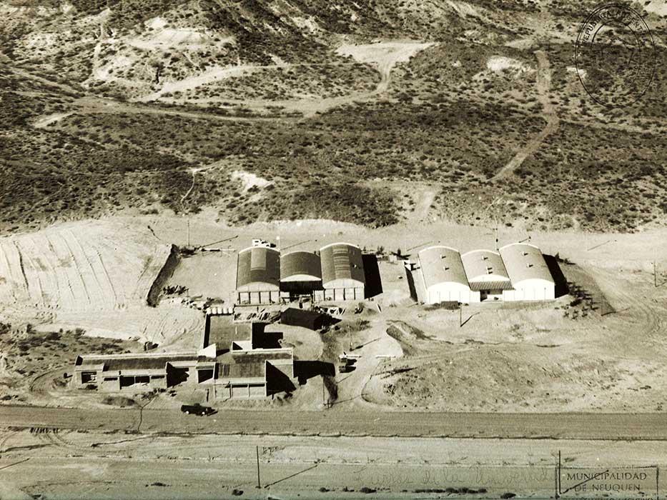 Las tierras de la universidad del Comahue