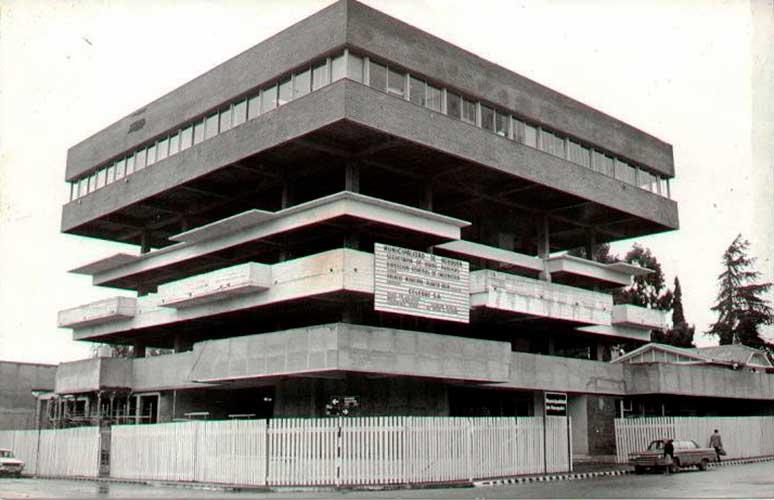 Edificio de la municipalidad en construcción