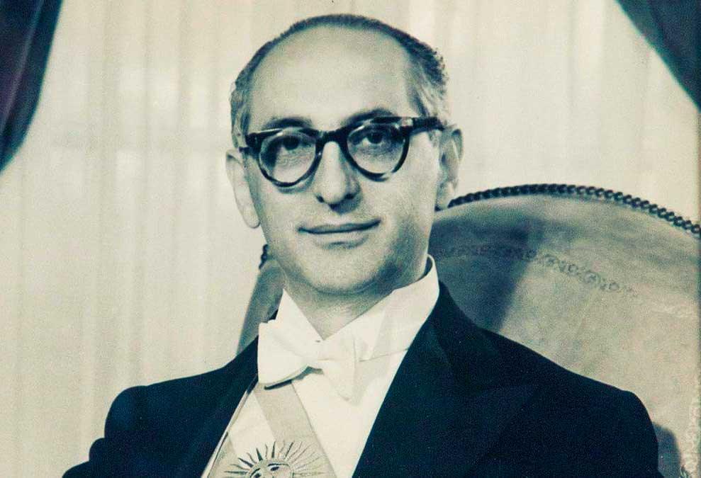 Presidente de la Nación Arturo Frondizi