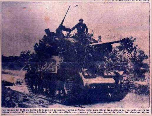 Azules y Colorados- Lucha de poder entre las fuerzas armadas argentinas.