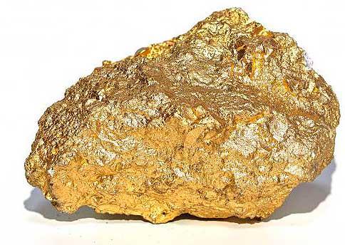Pepita de oro.