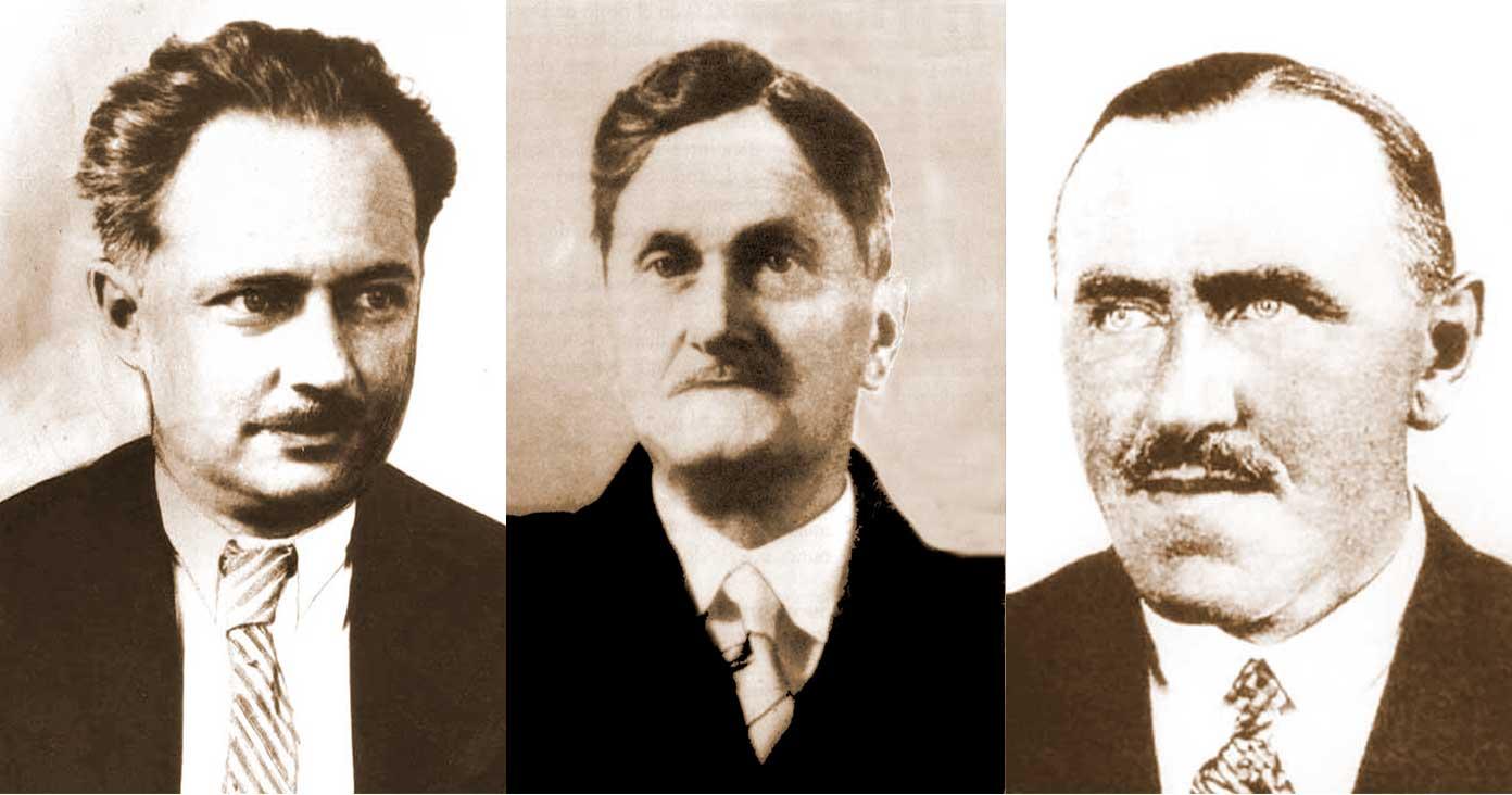 Los geólogos alemanes del Neuquén.