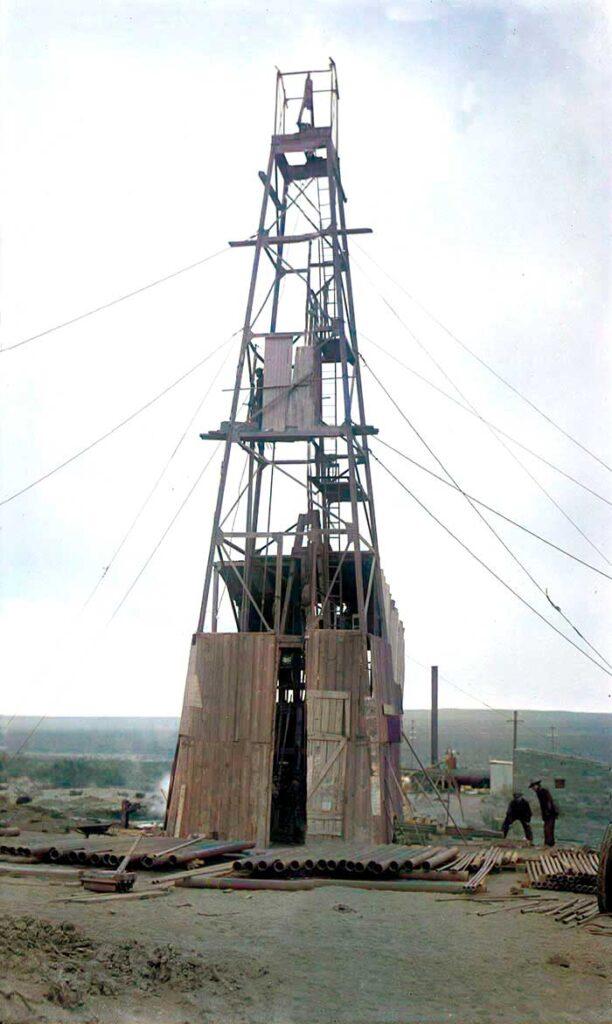 Torre de perforación