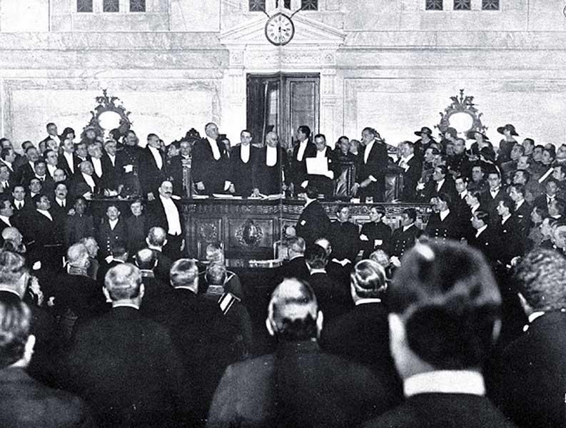 Asunción del presidente Marcelo Torcuato de Alvear (1922)