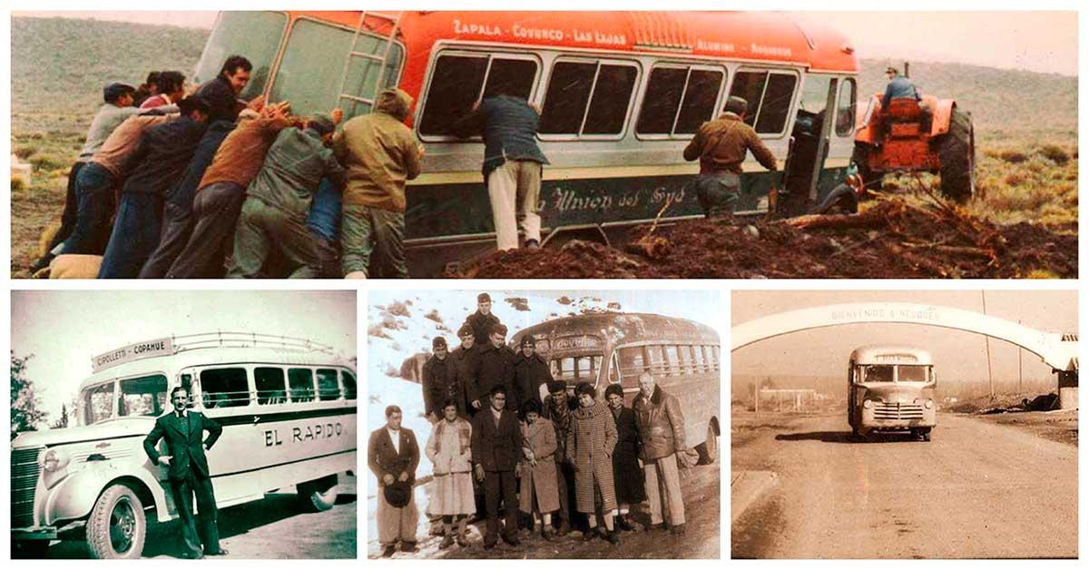 Colectivos de antes, en 11 imágenes