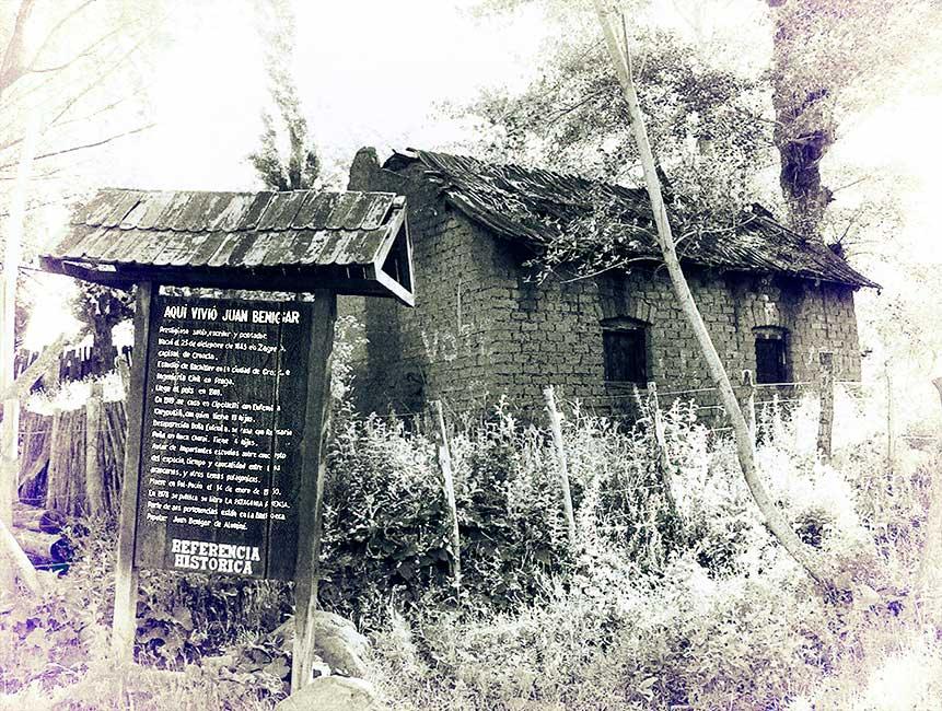 La vivienda de Juan Benigar en Poi Pucón