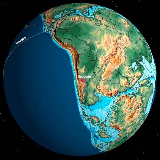 Hace 170 millones de años