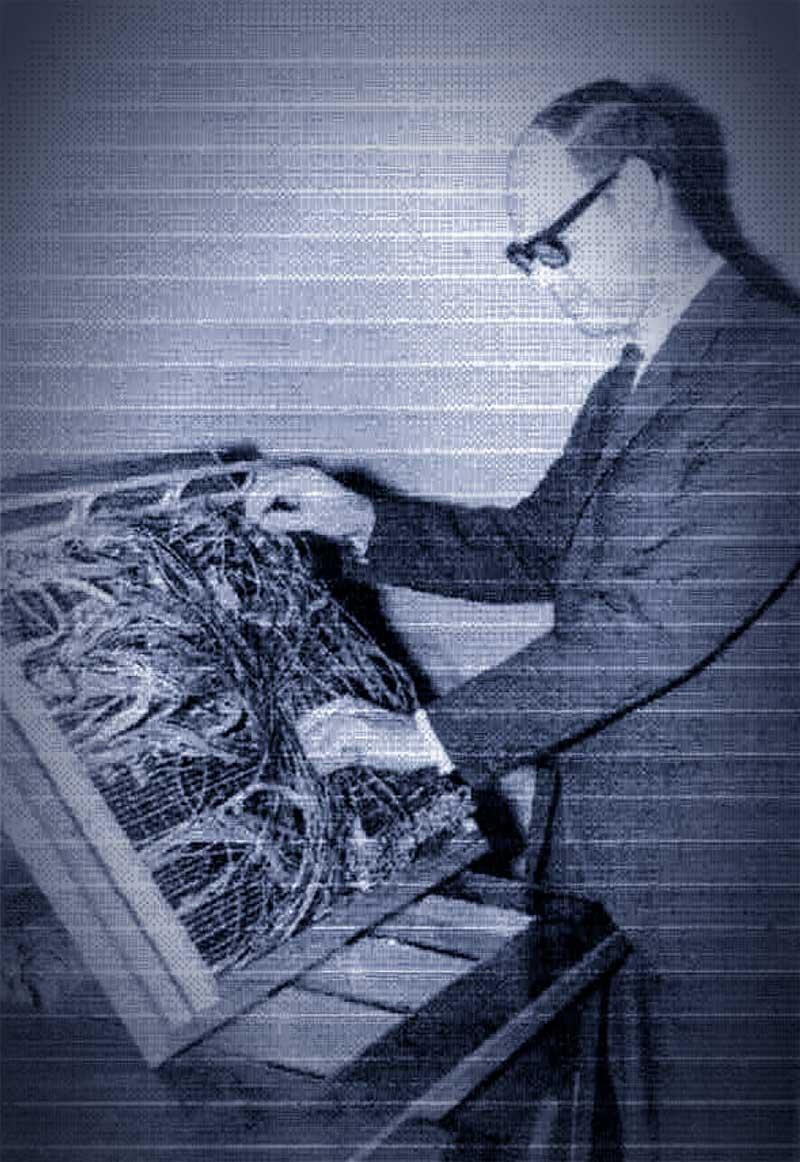Angel José Edelman con el Control Panel