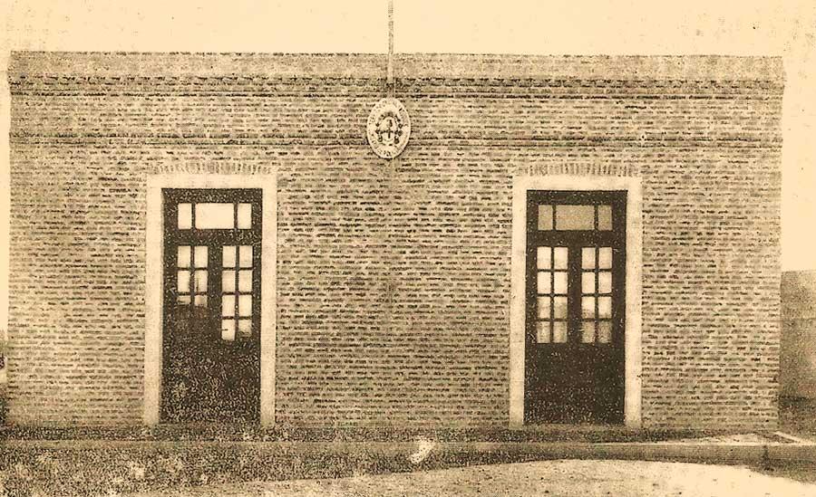 Comisaría de Cutral Co - 1937