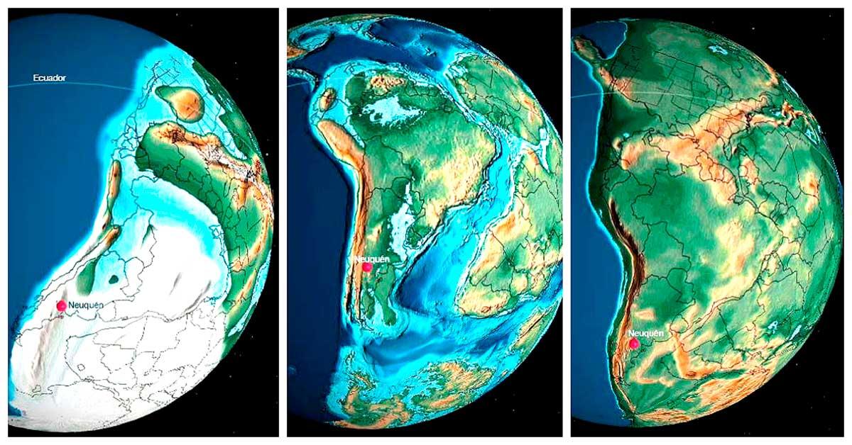 Los últimos 600 millones de años del Neuquén y la Argentina