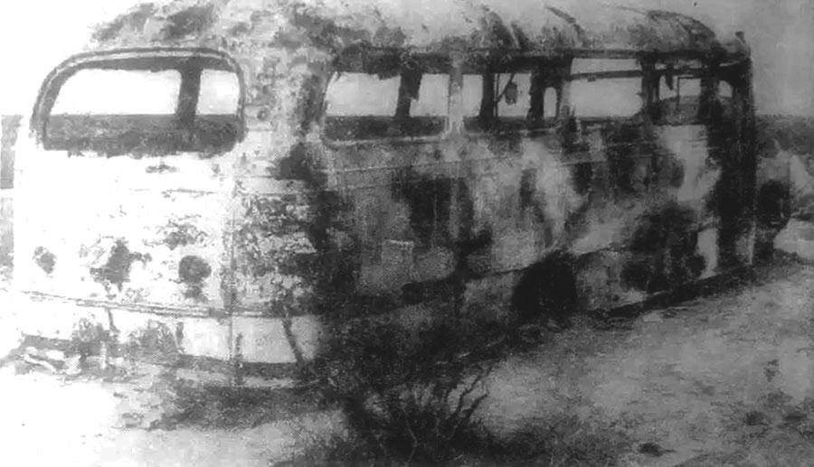 Accidente del colectivo YPF en 1966