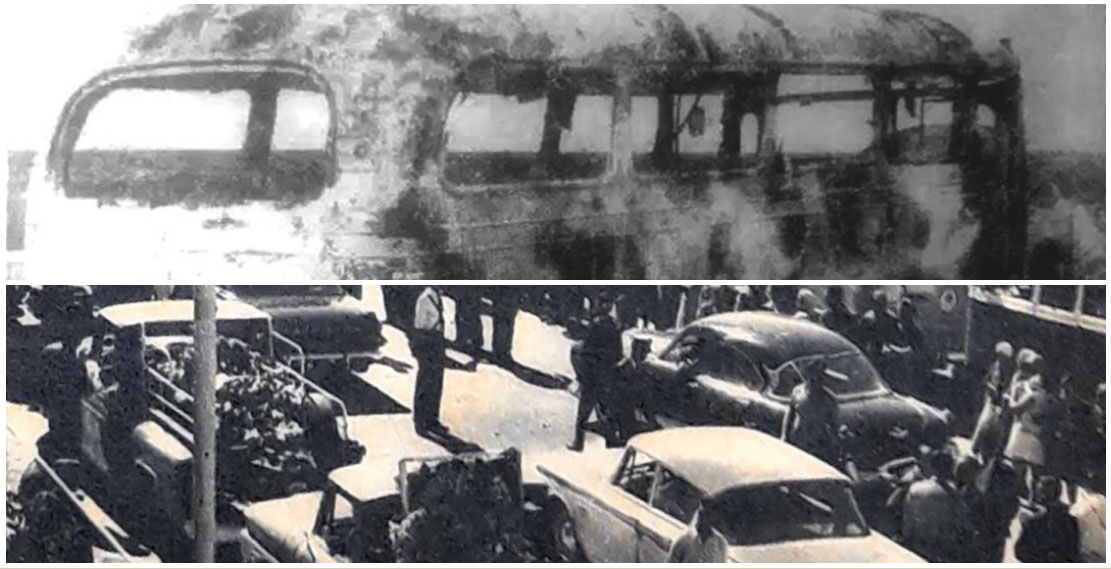 Accidente del colectivo de YPF en 1966