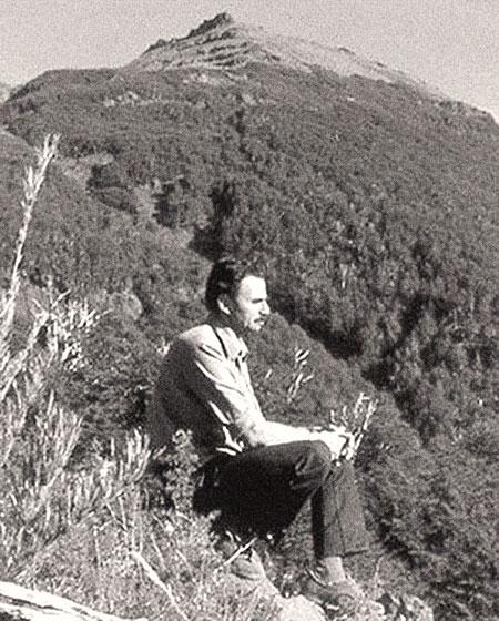 Mario Gentile - Haciendo un alto en la montaña