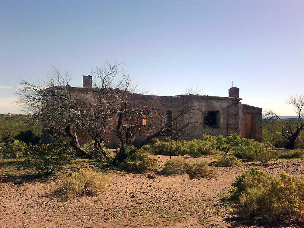 Auca Mahuida, un pueblo fantasma