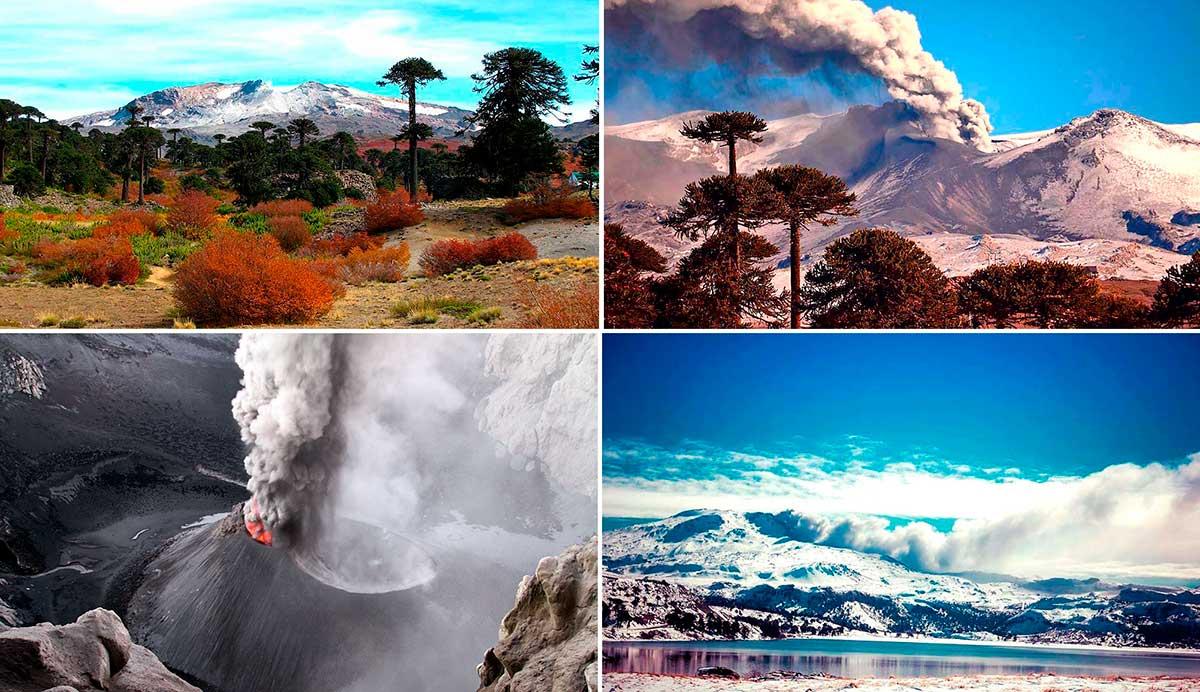 Volcán Copahue, en 13 imágenes comentadas