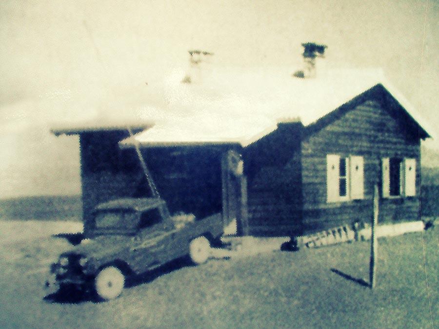 Casa del guardaparque donde redactó la carta Abel Cardoso en el año 1955.