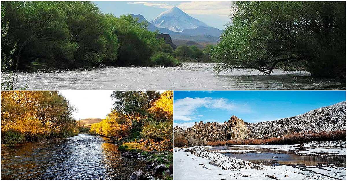 El río Malleo en 11 imágenes comentadas y un mapa