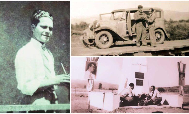 La muerte de Edilio Novoa en Eva Perón (1954)