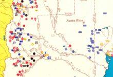 Mapa minero de la República Argentina - 1957