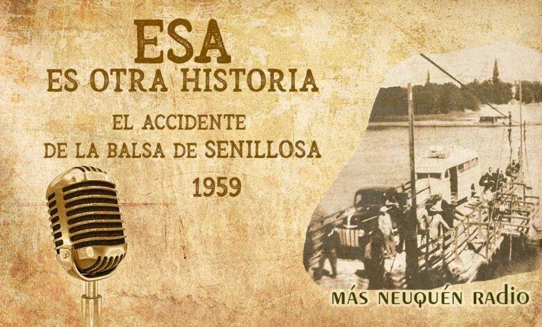 El accidente de la balsa de Senillosa