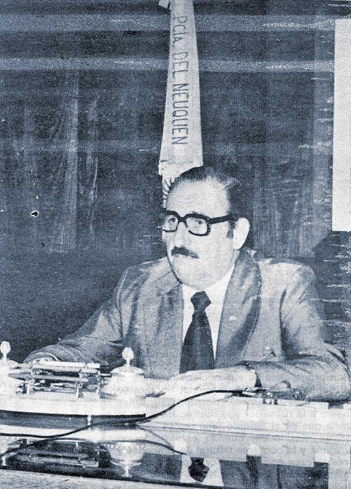 Gobernador militar de Neuquén, de facto, Domingo Trimarco