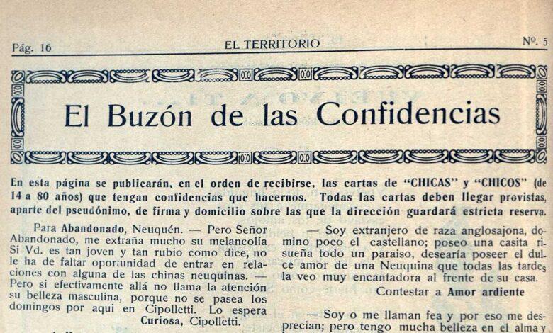 """Revista """"El Territorio"""" - Buzón de confidencias"""